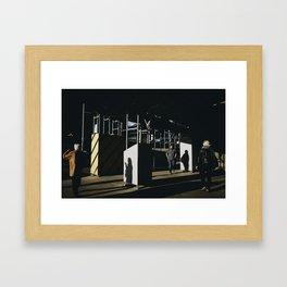 Lighting Up The Minority Of The Dark Framed Art Print