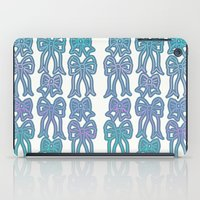 bows iPad Cases featuring Bows by Jessica Slater Design & Illustration