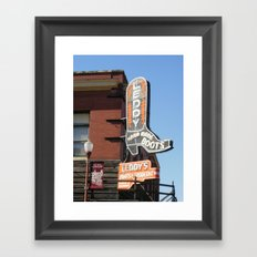 Leddy's Framed Art Print