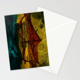 An ancient ship Stationery Cards