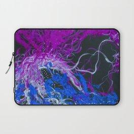 Blue and Purple Laptop Sleeve