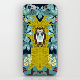 The Horse Chestnut {Night} iPhone Skin