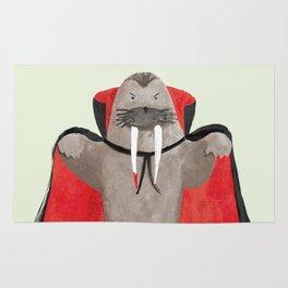 Vampire Walrus Rug