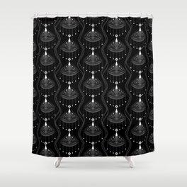 Laura 2 , Art Deco Shower Curtain