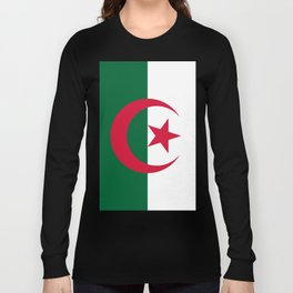 Algeria Flag Long Sleeve T-shirt