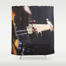 Guitarist Shower Curtain