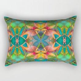 Floral Fractal Art G23 Rectangular Pillow