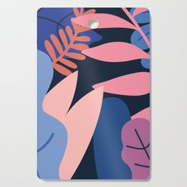 Colored Leaves Cutting Board