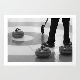 Skip In The House Art Print