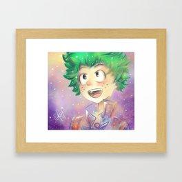 erika Framed Art Print