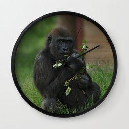 Cheeky Gorilla Lope Wall Clock