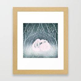 Baby Bun Buns Framed Art Print