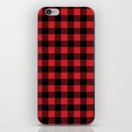 Buffalo Plaid Rustic Lumberjack Buffalo Check Pattern iPhone Skin