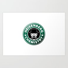 Heisenberg Chemistry - Breaking Bad Art Print