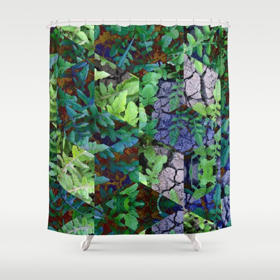 Super Natural No.1 Shower Curtain