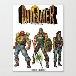 The Darkslayer - The Good Guys (Venir, Mood, Melegal) Canvas Print