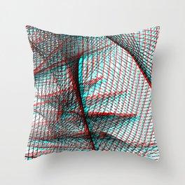 Asymmetriphobia Throw Pillow