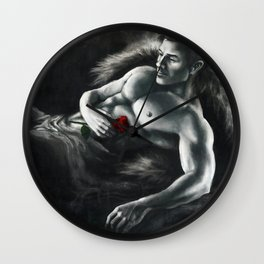 Dragon Age - Alistair with rose Wall Clock