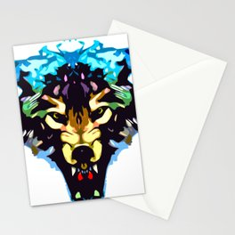 Wolf Icon 01 Stationery Cards