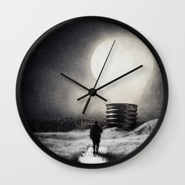 Follow the light ... Wall Clock