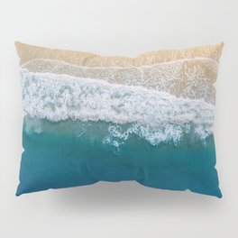 Water on the Beach (Color) Pillow Sham