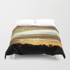 Dawn On The Side Duvet Cover