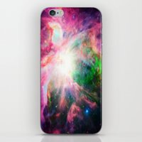 nebula iPhone & iPod Skins featuring Orion NebuLA Colorful Purple by 2sweet4words Designs