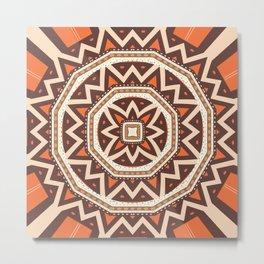 Mandalaic tiling Metal Print