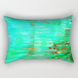 Abstraction of color game Rectangular Pillow