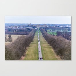 The Long Walk, Windsor Canvas Print