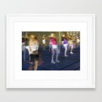 sport Framed Art Prints featuring Sport by Egle Tuleikyte