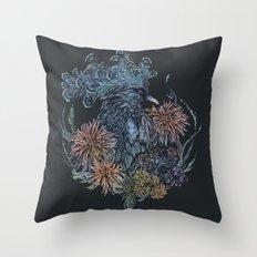 Pigeon lullaby Throw Pillow
