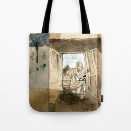 The Black House on the Hill Tote Bag