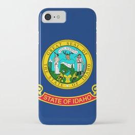 Flag of Idaho iPhone Case
