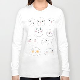 Small Gathering Long Sleeve T-shirt