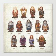 dwarves  Canvas Print