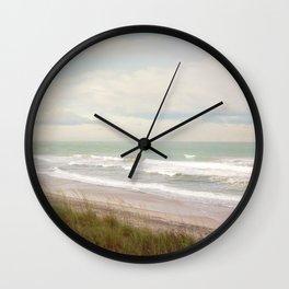 Surf City NC Fine Art Photography Wall Clock
