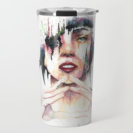 Ghost in the Shell - danielcrmr fan art- Travel Mug