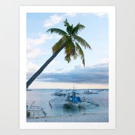 Malapascua Island, Cebu, Philippines Art Print
