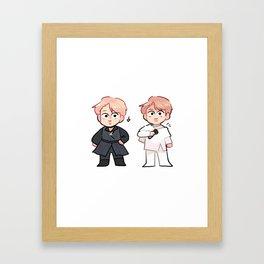 duality of namjoon! Framed Art Print