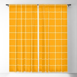 Marigold Grid Blackout Curtain