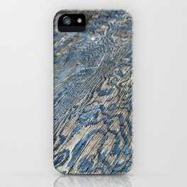 Plywood Ripples iPhone Case