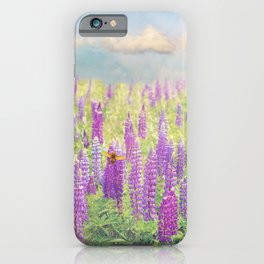 Field of Lupins iPhone Case
