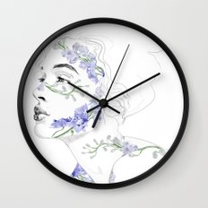 Botanical 2 Wall Clock
