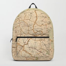 Automobile Map of Washington District (1909) Backpack