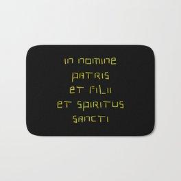 In nomine patris et filii et spiritus sancti 2 Bath Mat