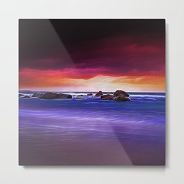 Snapper Rocks Metal Print