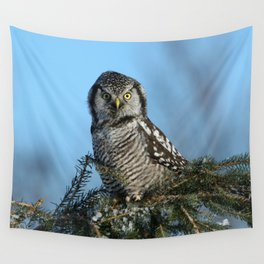 Atop a fallen branch Wall Tapestry