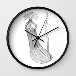 Nepenthes I Wall Clock