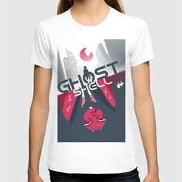 Ghost in the shell Minimalist poster T-shirt